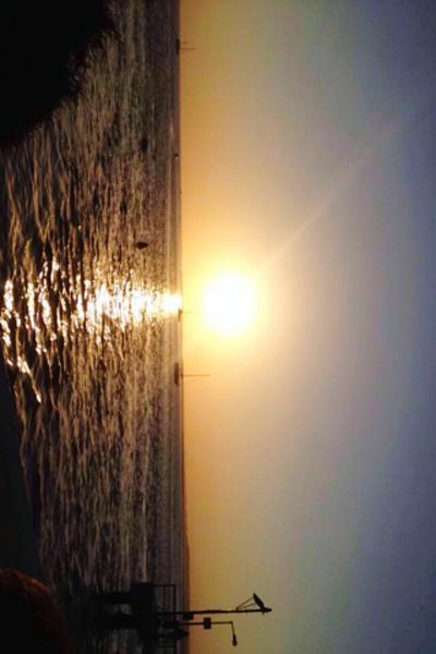 Sea Sun Calm Sunset Tranquility