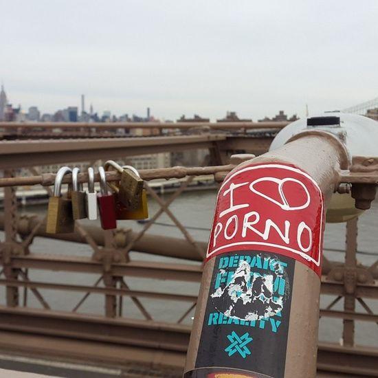 Brooklyn Bridge Porno Brooklynbridge Nystreetphoto NuevaYork Newyorknewyork NY NYC Manhattan