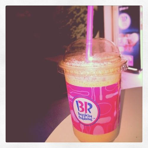 Baskinrobbins Thickshake Bavarianchocolateshake Shoots tired fun happy
