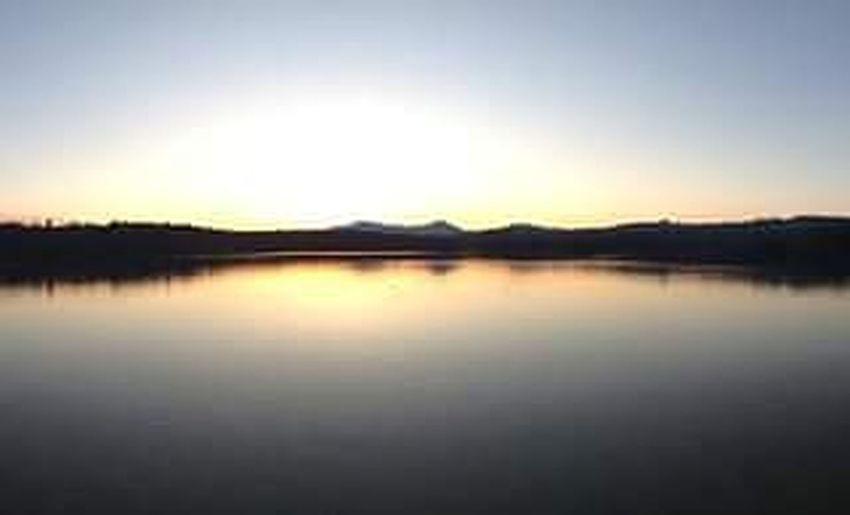 Sunset at White