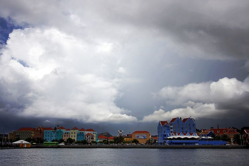 Architecture Building Building Exterior Built Structure City Cloud - Sky Mode Of Transportation No People Otrabanda Outdoors Sea Water Waterfront