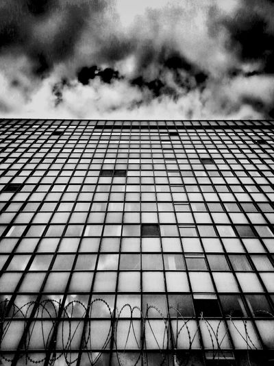 [Empty Edifice] Architecture Blackandwhite Abandoned & Derelict Andrographer