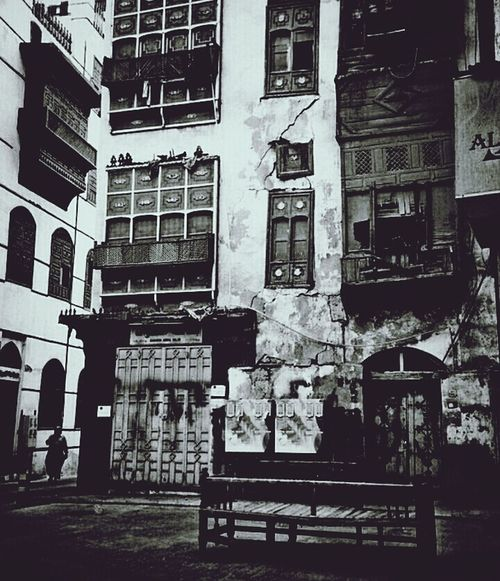 "Jeddah old cultural & heritage "" Hejazi"" The Explorer - 2014 EyeEm Awards Black & White Black And White Taking Photos"