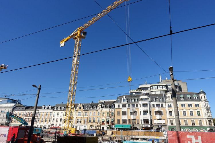 Bonn City Bonn Buildings Architecture City Clear Sky Multi Colored Blue Electricity  Sky