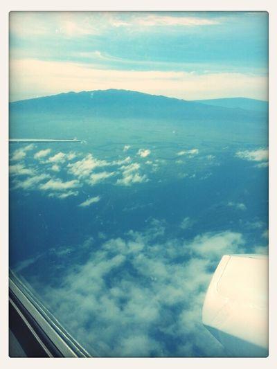 Going back to Honolulu bye bye Big Island.:)
