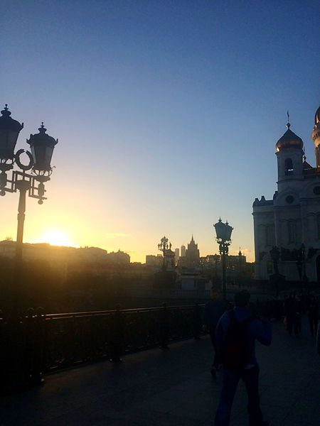 Sunset Moscow City City Life Capture The Moment Seeing The Sights