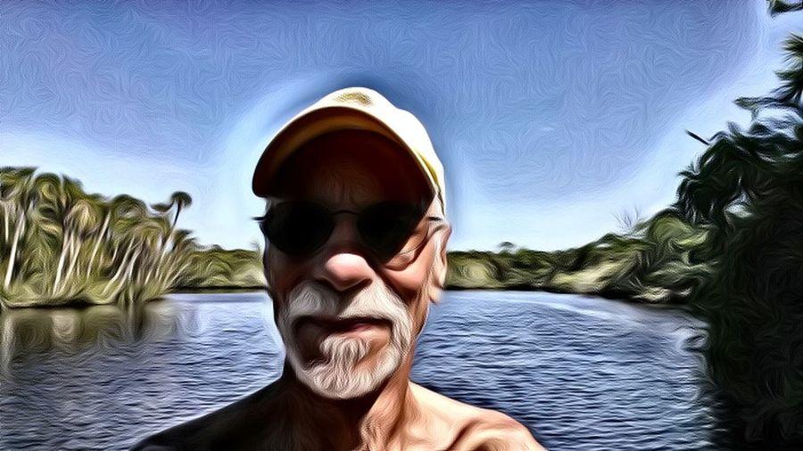 That's Me Self Portrait On My Kayak Down A Lazy River Loving Life! On The Water Hidden Gems  St Sebastian River Sebastian, Fl