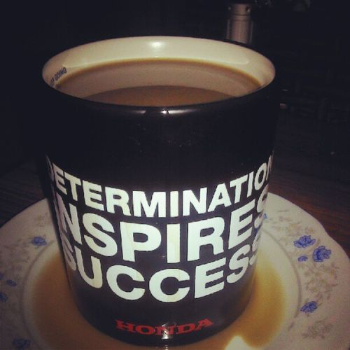 dose of caffein in the morning.. nak gi serang umah Tok Ngulu NDSLRM1H1F sat lagi... nguahaha!