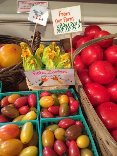 Fresh Vegetables Farmstand Hamptons Round Swamp Bridgehampton, NY