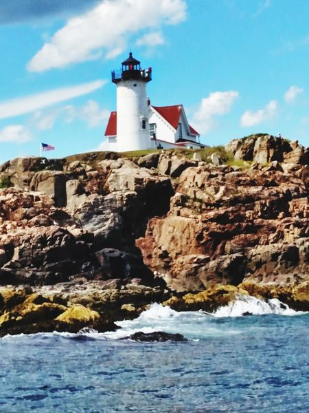 Lighthouse Travel Destinations Rock - Object