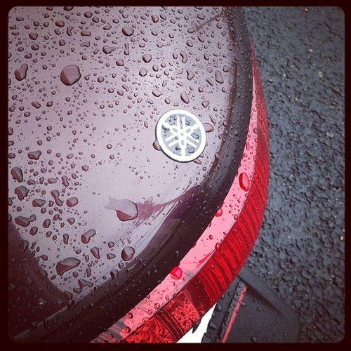 Vox Yamahac3 Yamaha Yamahavox バイク通勤初日から雨☔ですよ?今までチャリ通だった時の半分くらいで着いちゃったけど。