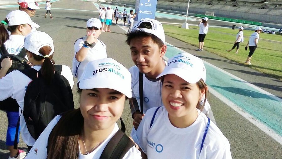 Walk2015 Walkathon Selfie