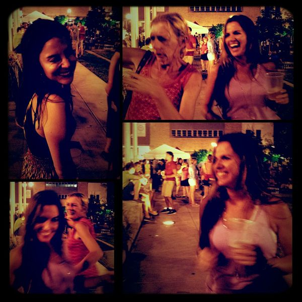 Making new friends Dancing Beers Fun Love these random moments :)