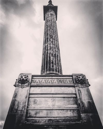 High Angle View Built Structure Sky Architecture Low Angle View Travel Destinations No People Tower Building Exterior History Day Outdoors City Cultures Georgesquare