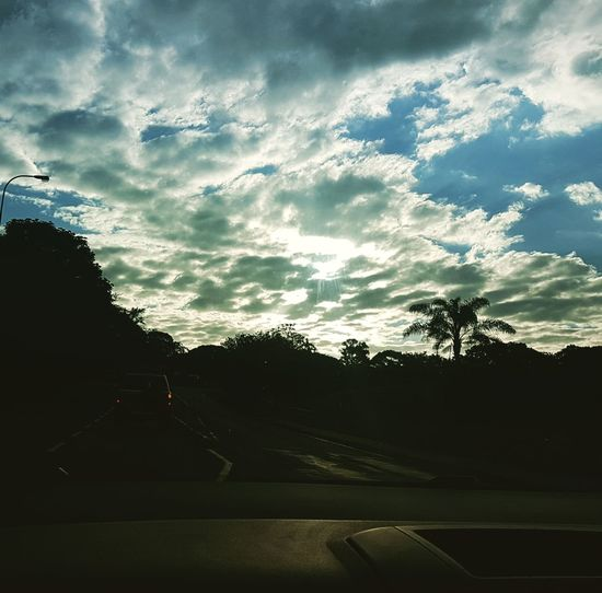 Sky Cloud - Sky Sunset Nature Rain Silhouette No People Outdoors