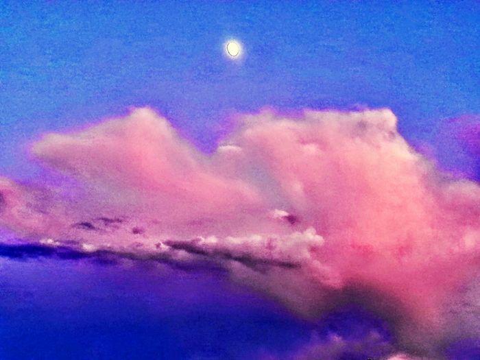 Natures Watercolor Beautiful Sky