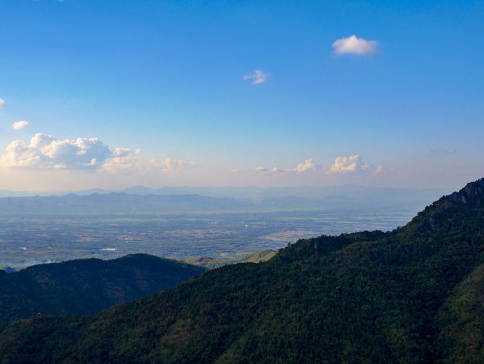 hiking trip giving you a panoramic stunning view Hikingadventures Opening Sky  Blue Sky Mountain Range Valley Travel Destinations High View Of The City High Views
