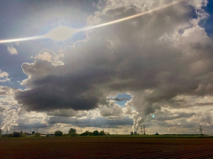 Pollution Cloud - Sky Environment Sky Storm Landscape Beauty In Nature Nature