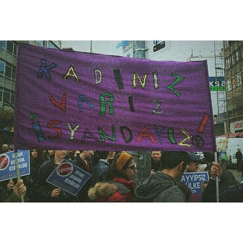 23 ocak eyleminden kadınız,varız,isyandayız ! Liseligencumut Gencumut 8mart