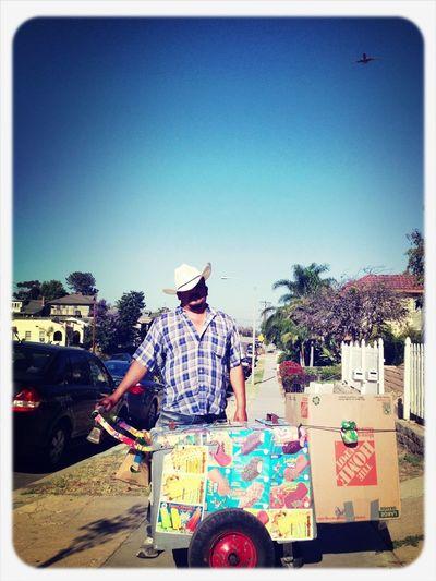 Summertime Horchata Popsicle Man