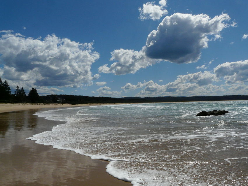 Australia Australian Landscape Beach Beach Photography Beachlife Clouds Clouds And Sky Coast Sky South Coast Australia Tathra Tathrabeach Tranquil Scene The Great Outdoors - 2016 EyeEm Awards