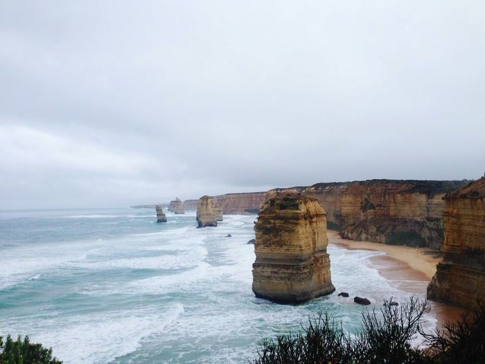 Majestic coastline in australia