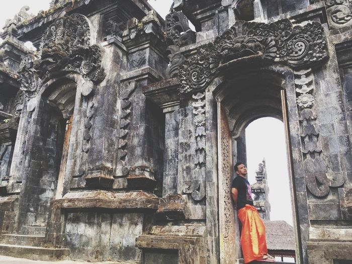 Bali, Indonesia Purabesakih Outdoors People Travel Destinations Statue Architecture Day Balinese Built Structure Bali Spirituality Religion Building Exterior