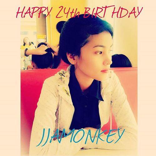 HAPPY HAPPY HAPPY BIRTHDAY TO MY EVERDEAREST SISTER JANINE MAE TOLENTINO. 24th 01131992 Wemissyoujjam Jjamonkey Jjamchef Birthdaywish Weloveyou