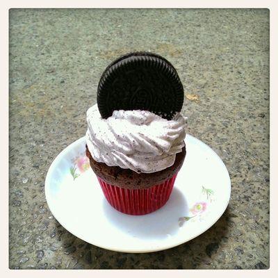 Cupcakes Oreo Cupcakes   Cookiesandcream CookiesNcream