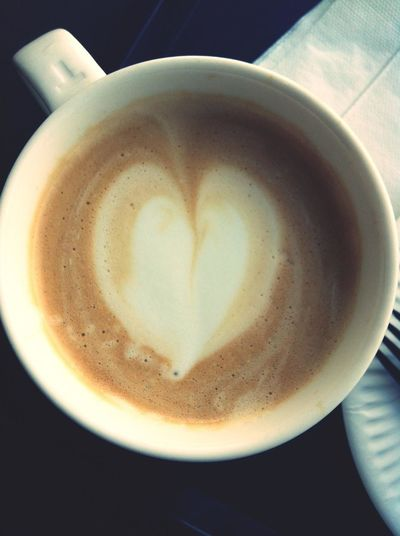 Cafe Latte Coffee And Cigarettes Espresso Coffee Break