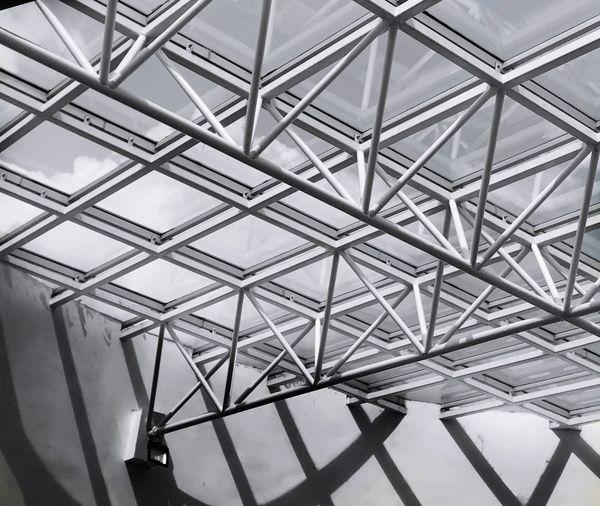 Skyroof Buildings & Sky Ironwork  Pattern Ceiling Architecture