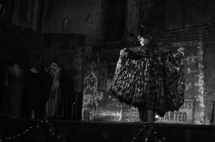 Final Variete of 2016 at the Panopticon. Black And White Burlesque Cabaret Cloads Featehrs Feminie Glasgow  Monochrome People Portrait Scotland Variety Woman