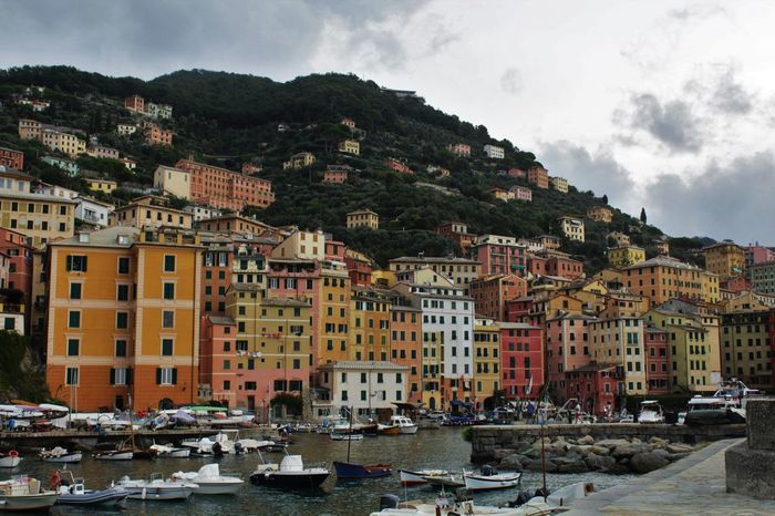 Liguria Italty Italia Sea Seascape Sea And Sky Sea Life Building Exterior Buldings Buildings & Sky Buildings Architecture Italiancity Residential District Urban Skyline Residential Structure Office Building TOWNSCAPE Ferry Tall - High