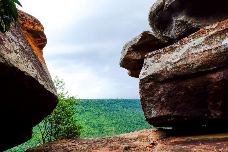 Sky Rock Nature