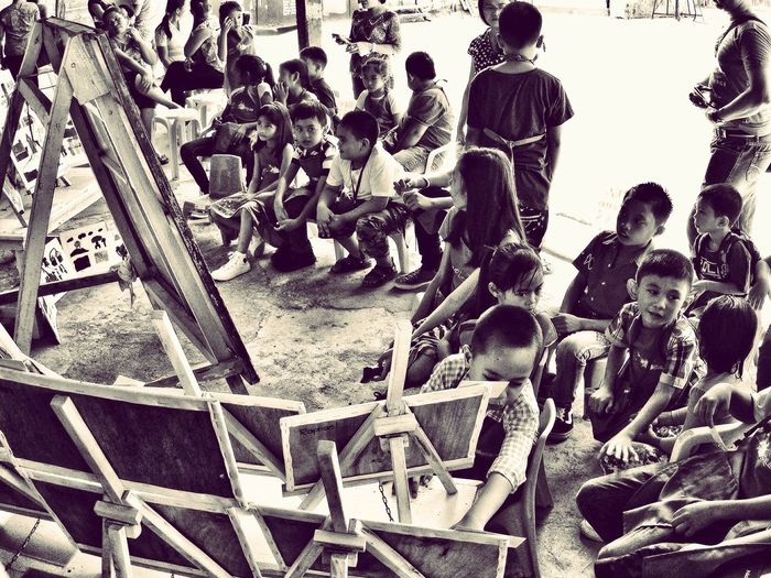 kids summer art class graduation and exhibit😊👍🏾 Kids Kids Being Kids Kidsphotography Kids Having Fun Kiddos Kids Are Awesome Kids Art Kids' Artwork Kids_of_our_world Kids Life Learning Arts And Crafts Drawing ✏ Skills Training Training Black & White EyeEm Kids Eyeem Kids Photography EyeEm BlackandWhite Summer Vacation Eyeem Philippines Showcase April EyeEm Phillipines Telling Stories Differently
