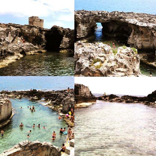 Piscina naturale di Marina Serra Marinaserra Santamariadileuca Salento
