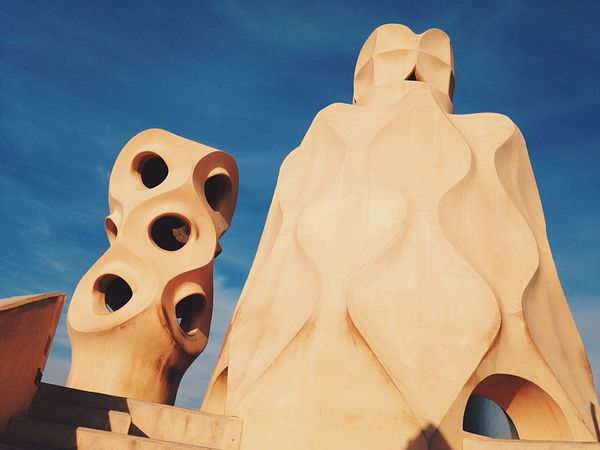 Gaudi Architecture City Traveling Capture The Moment Art Sunset Cultures Artist Landmark Seeing The Sights The Architect - 2016 EyeEm Awards 43 Golden Moments Gold Golden Hour