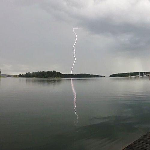 Lightning! Lightning Storm Sky Weather
