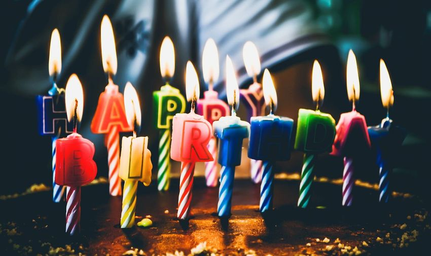 Happy Happy Birthday! Happy Birthday Colors Colorful Color Candle Candles Birthday Birthday Cake Birthday Party Kerala Background Close Up Inspirations Inspirational Candlelight Happiness Happy People