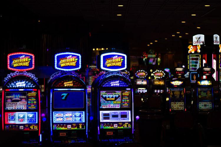 Casino Casino Night Casinos Communication Gambling Gambling Addiction Gambling Machine Gambling Our Life Savings Away GamblingNight Games Illuminated Multi Colored Night