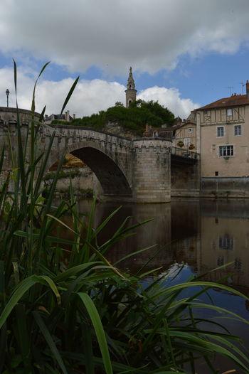 Architecture Bridge Bridge - Man Made Structure Cloudy Famous Place History Architecture River View Spire  Tourism Water