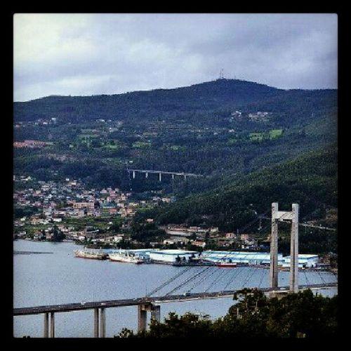 Rande Sea Bridge Igersredondela igersvigo igersgalicia instagramer galicia landscape sky