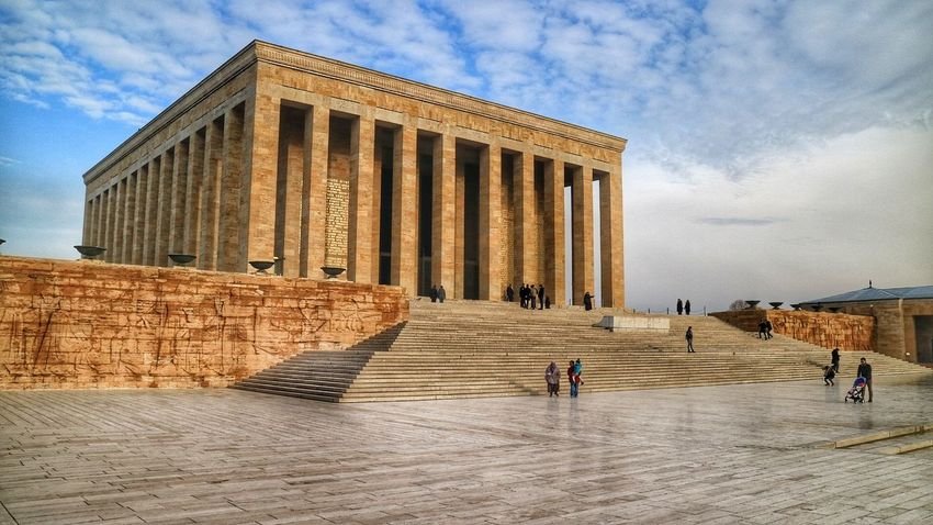Anıtkabir Architecture History Built Structure Taking Photos Eye4photography  Blue Eye4photography  The Week On Eyem Atatürk
