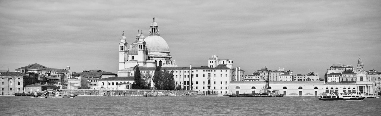 Panoramic Venice, Italy Architecture Building Building Exterior Built Structure Canal City Day Mode Of Transportation Nature No People Outdoors Passenger Craft Place Of Worship Religion Sea Sky Spirituality Transportation Travel Travel Destinations Venezia Italia Water Waterfront