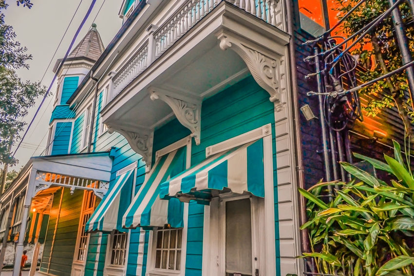 Garden District, New Orleans New Orleans, LA Architecture Building Exterior Built Structure City Day Garden District Low Angle View No People Outdoors Restaurant