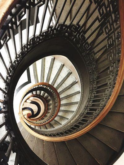 Vertiginous Vertigo Staircase Vertigo San Francisco Library Architecture Spiral Staircase Golden Spiral Golden Ratio
