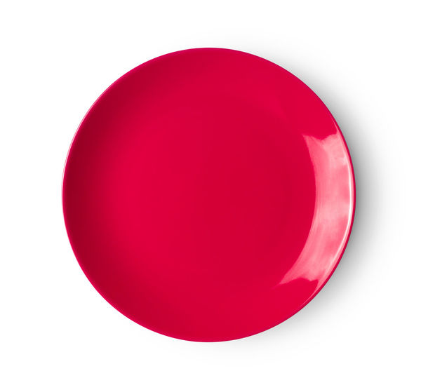 Close-up of red balloon against white background