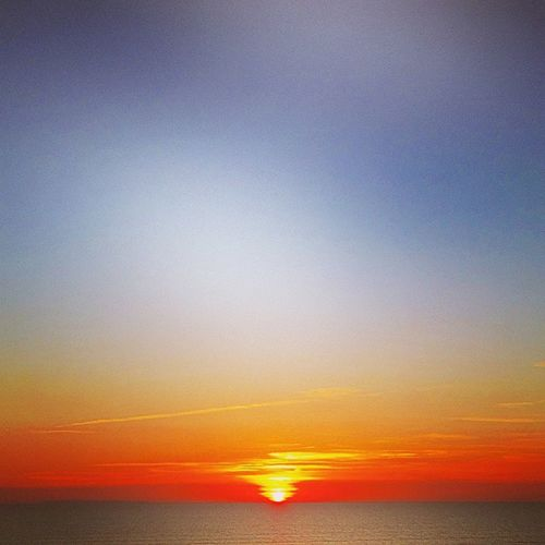 Another one of the sunset last night in westward ho! Westwardho Sunset Sunsets Pretty Pwetty Sun Sea