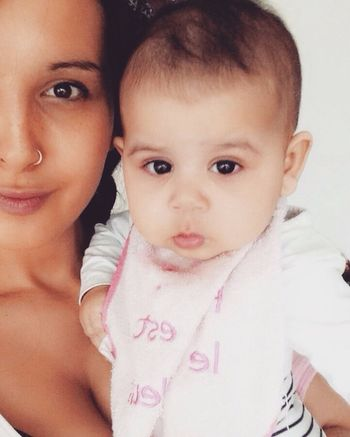 Hello World Good Morning At Home Monday Relax My Daughter ♥ Mom And Daughter No Make-up