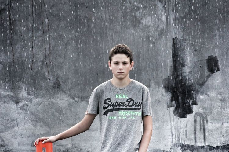 My son looking cool ?? Boy Model Teenager Superdry